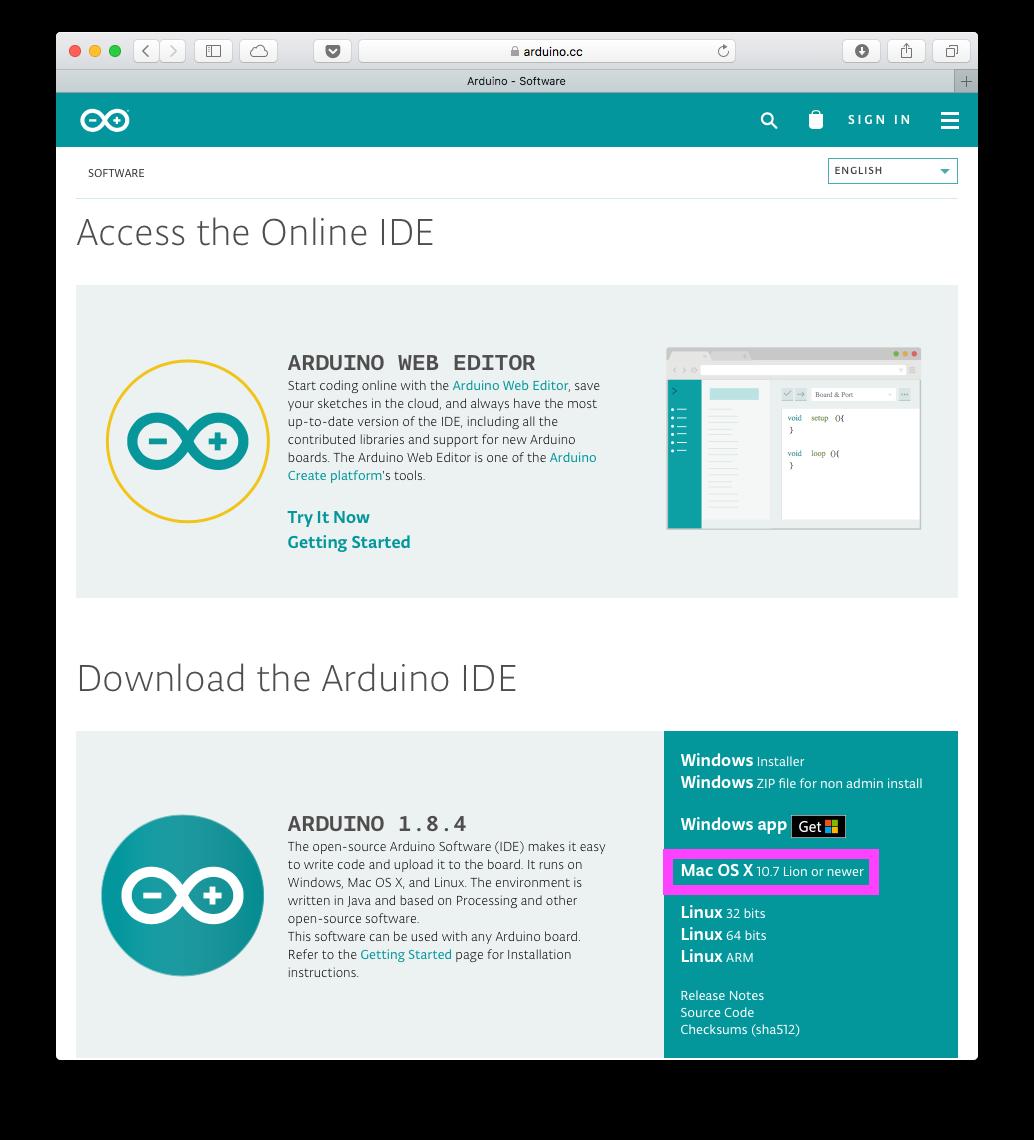 Arduino software download softonic